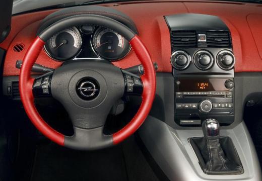 OPEL GT roadster czarny tablica rozdzielcza