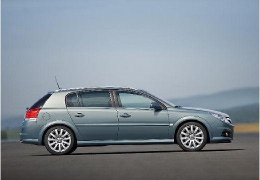 OPEL Signum II hatchback niebieski jasny boczny prawy