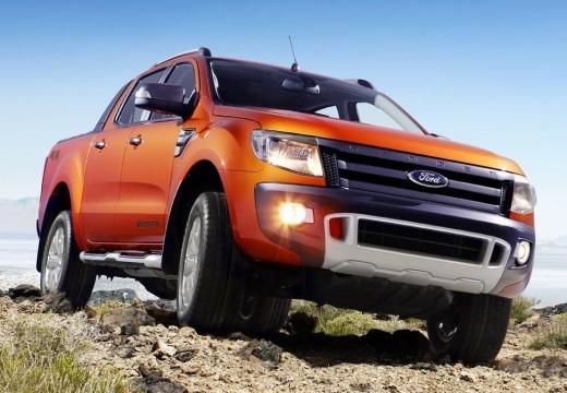 FORD Ranger pickup pomarańczowy przedni prawy