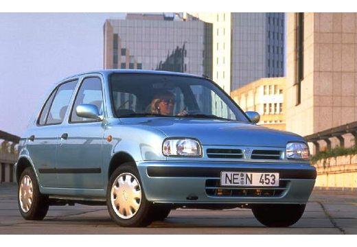 NISSAN Micra II hatchback przedni prawy
