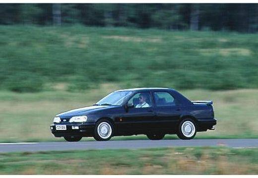 FORD Sierra sedan czarny przedni lewy