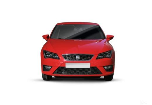 SEAT Leon IV hatchback czerwony jasny przedni