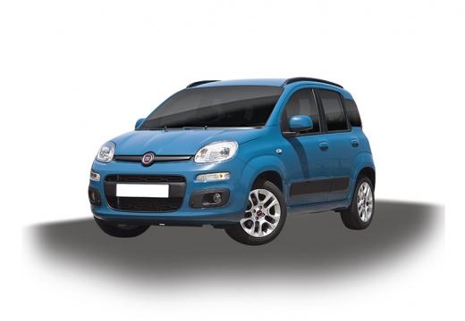 FIAT Panda III hatchback niebieski jasny