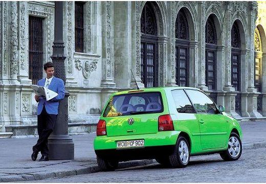 VOLKSWAGEN Lupo hatchback zielony jasny tylny prawy
