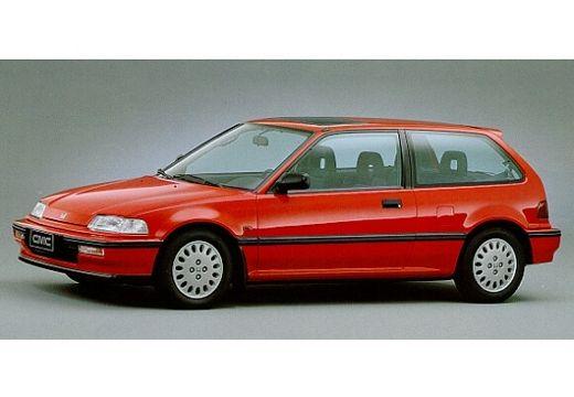 HONDA Civic I hatchback czerwony jasny przedni lewy