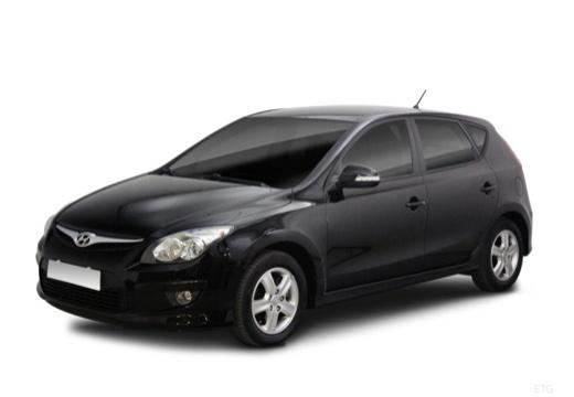 HYUNDAI i30 II hatchback czarny przedni lewy