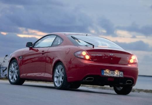 HYUNDAI Coupe IV coupe czerwony jasny tylny prawy