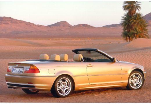 BMW Seria 3 kabriolet złoty tylny prawy