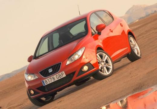 SEAT Ibiza V hatchback czerwony jasny przedni lewy