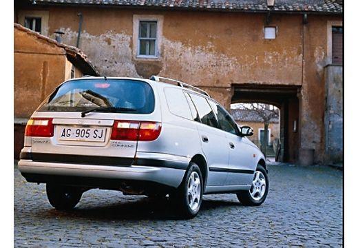 Toyota Carina kombi silver grey tylny prawy