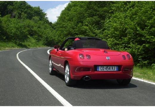 FIAT Barchetta kabriolet czerwony jasny tylny lewy