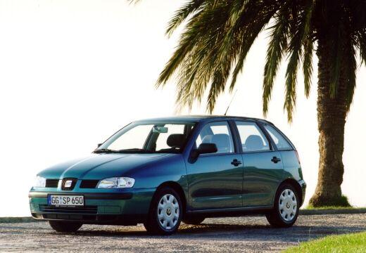 SEAT Ibiza III hatchback zielony przedni lewy