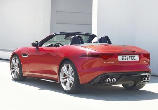 JAGUAR F-Type I kabriolet czerwony jasny tylny lewy