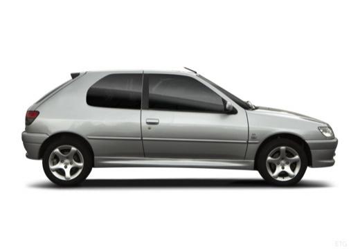 PEUGEOT 306 II hatchback boczny prawy