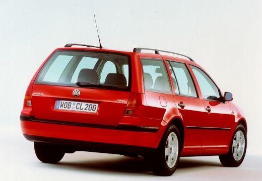 VOLKSWAGEN Golf IV Variant kombi czerwony jasny tylny prawy