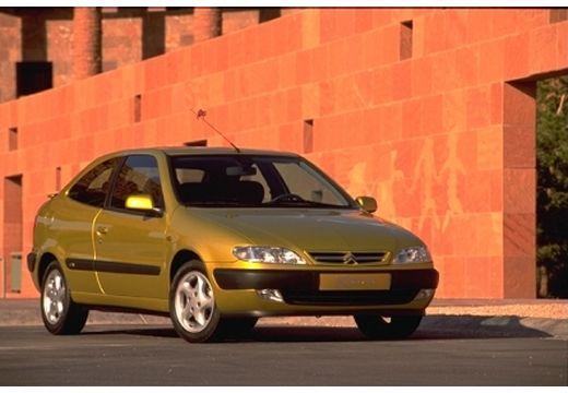 CITROEN Xsara I hatchback żółty przedni prawy