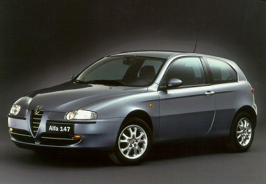 ALFA ROMEO 147 hatchback szary ciemny przedni lewy