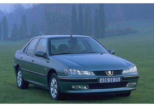 PEUGEOT 406 sedan niebieski jasny przedni prawy