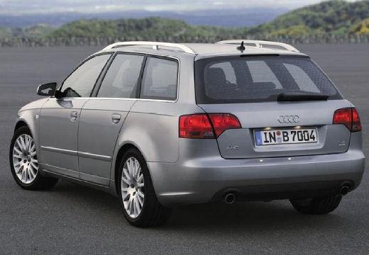 AUDI A4 Avant 8E II kombi silver grey tylny lewy