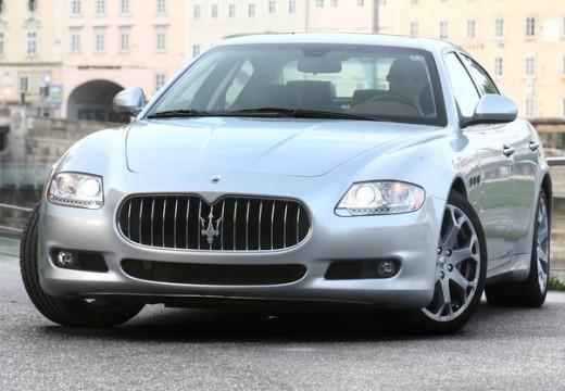 MASERATI Quattroporte sedan silver grey przedni lewy