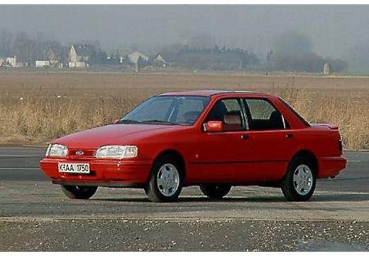 FORD Sierra sedan czerwony jasny przedni lewy