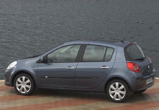 RENAULT Clio III I hatchback szary ciemny tylny lewy