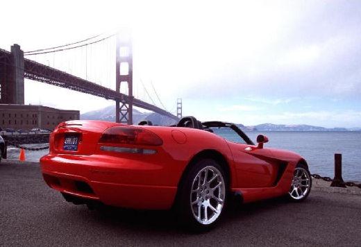 DODGE Viper Roadster II coupe czerwony jasny tylny prawy