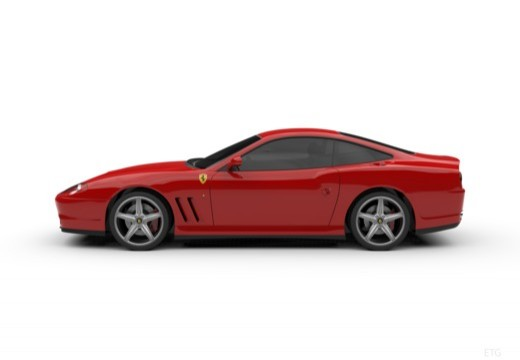 FERRARI 575 coupe boczny lewy
