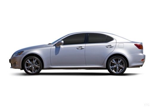 LEXUS IS III sedan silver grey boczny lewy