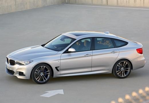 BMW Seria 3 Gran Turismo hatchback silver grey przedni lewy
