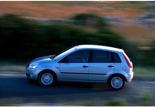 FORD Fiesta V hatchback silver grey boczny lewy
