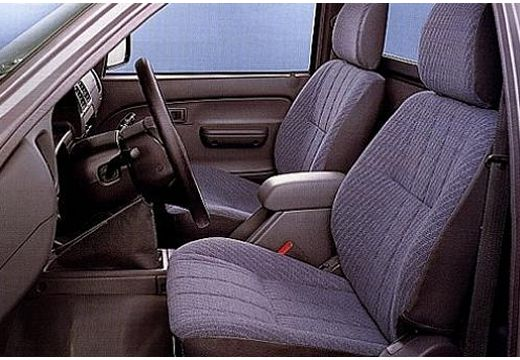 Toyota HiLux I pickup wnętrze