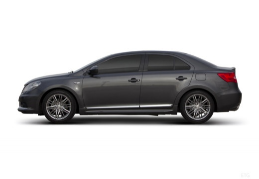 SUZUKI Kizashi sedan czarny boczny lewy
