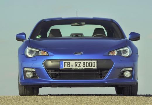 SUBARU BRZ coupe niebieski jasny przedni