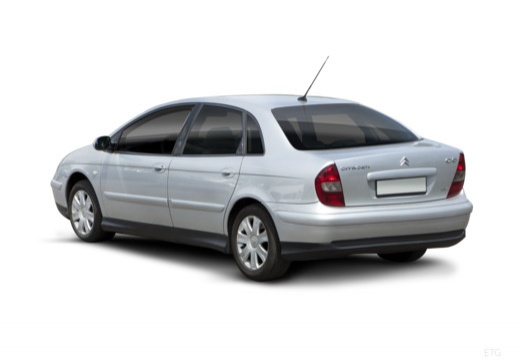 CITROEN C5 I hatchback silver grey tylny lewy