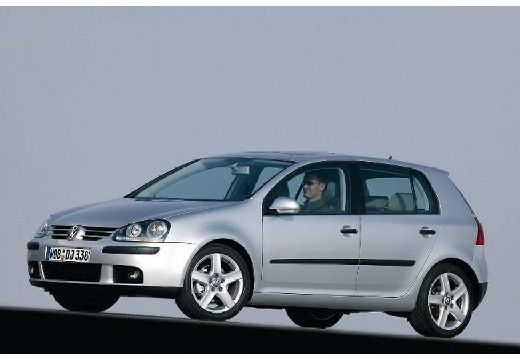 VOLKSWAGEN Golf V hatchback silver grey przedni lewy