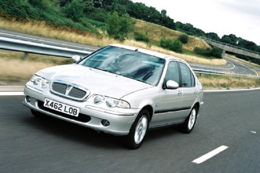 ROVER 45 sedan silver grey przedni lewy