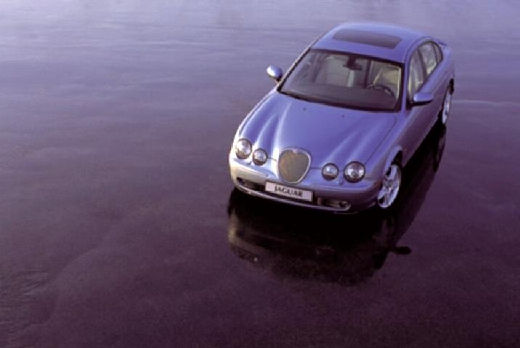 JAGUAR S-Type sedan silver grey przedni lewy