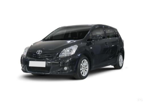 Toyota Verso I kombi mpv czarny przedni lewy
