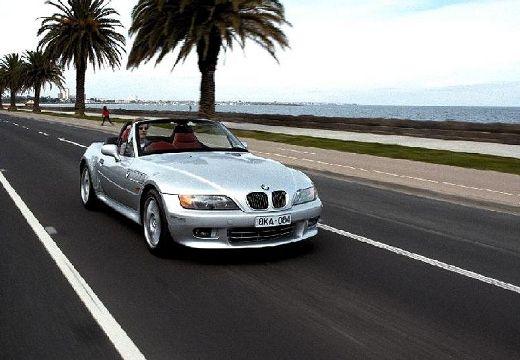 BMW Z3 E36/7 roadster silver grey przedni prawy