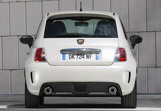 FIAT 500 I hatchback biały tylny