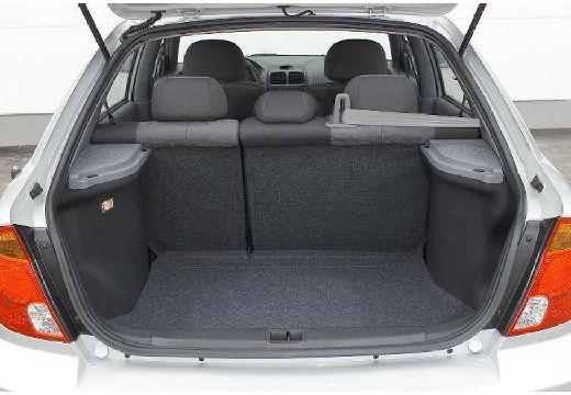 HYUNDAI Accent hatchback przestrzeń załadunkowa