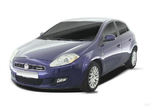 FIAT Bravo II hatchback niebieski jasny