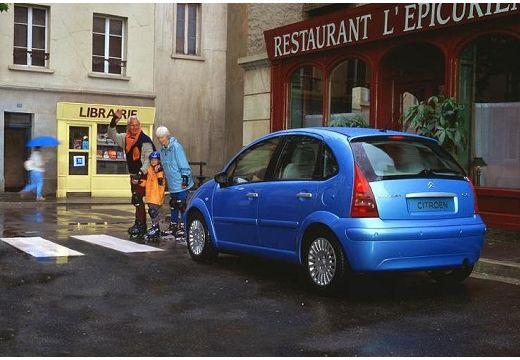 CITROEN C3 I hatchback niebieski jasny tylny lewy