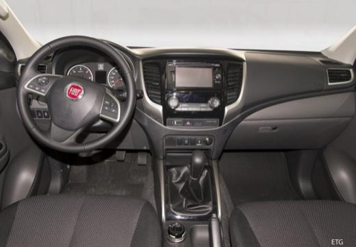 FIAT Fullback pickup szary ciemny tablica rozdzielcza