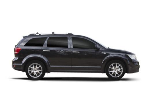 FIAT Freemont I van czarny boczny prawy