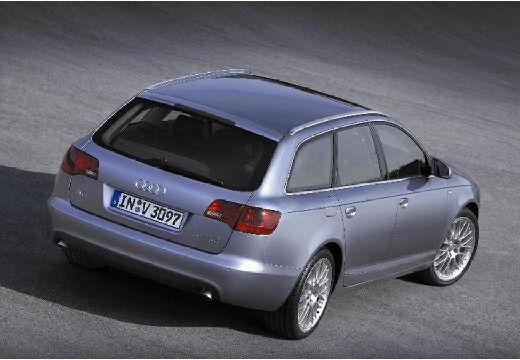 AUDI A6 Avant 4F I kombi silver grey tylny prawy