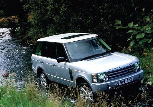 LAND ROVER Range Rover III kombi silver grey przedni prawy