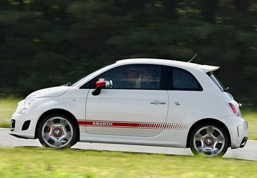 FIAT 500 I hatchback biały boczny lewy