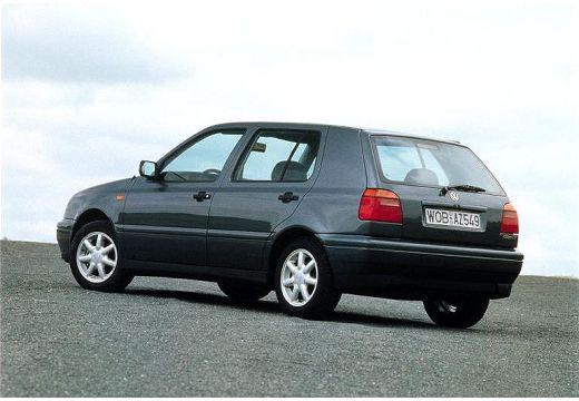 VOLKSWAGEN Golf III hatchback szary ciemny tylny lewy